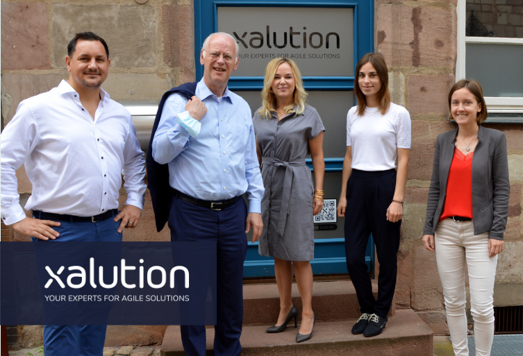 xalution advisory board member Rudolf Scharping came from Frankfurt for a flying visit.
